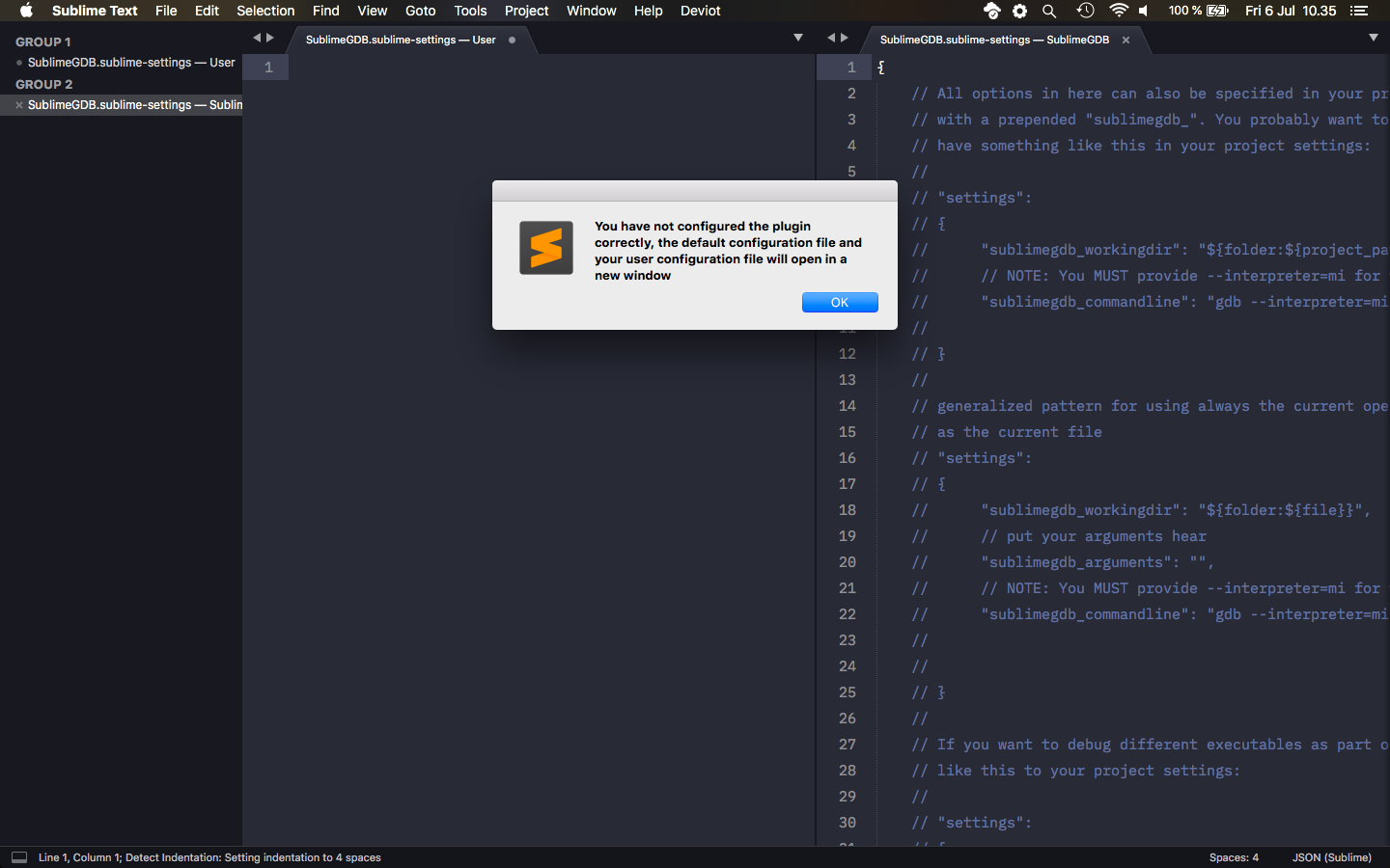 PIO unified debugger and sublimetext - PIO Unified Debugger