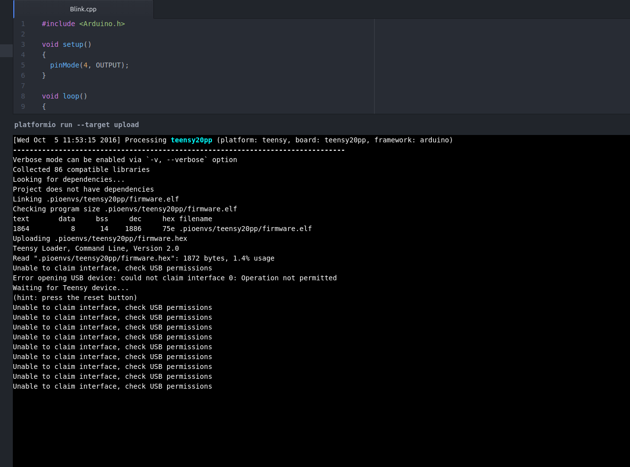 USB permissions error - Troubleshooting - PlatformIO Community