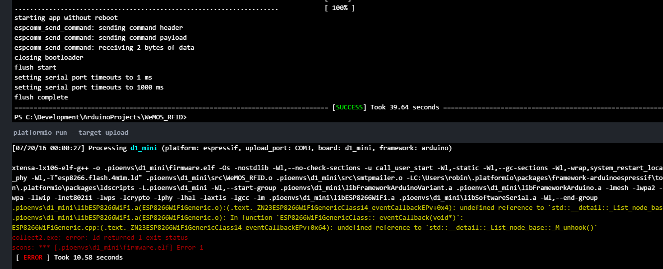 undefined reference to `winmain@16 collect2.exe: error: ld returned 1 exit status