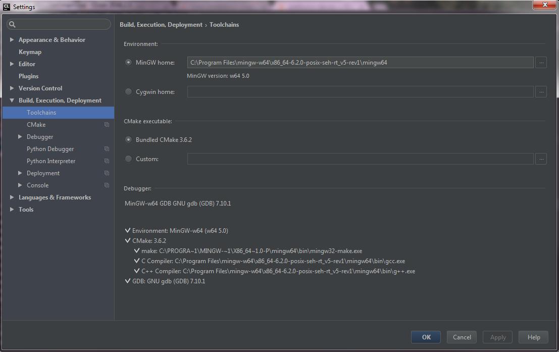 CLion does not recognizes PlatformIO configurations on