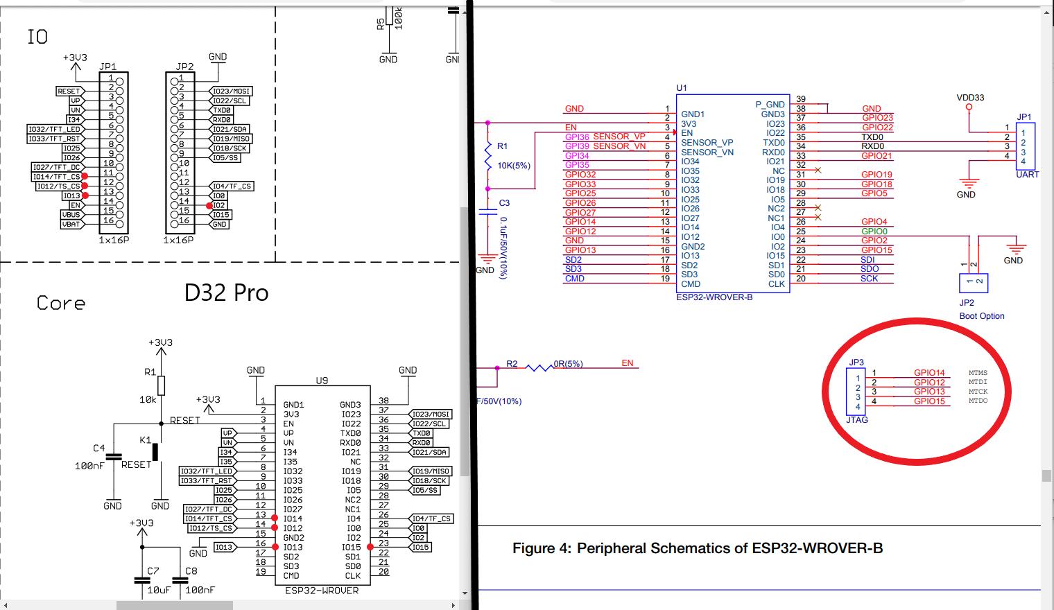 Lolin D32 Pro - ESP-Prog - PlatformIO Community