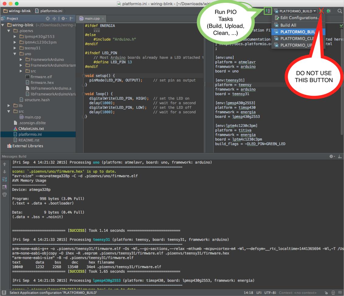 CLion autocompletion not working - Integration - PlatformIO Community