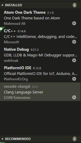 Using vscode-clangd Fails to locate Arduino h - PlatformIO IDE