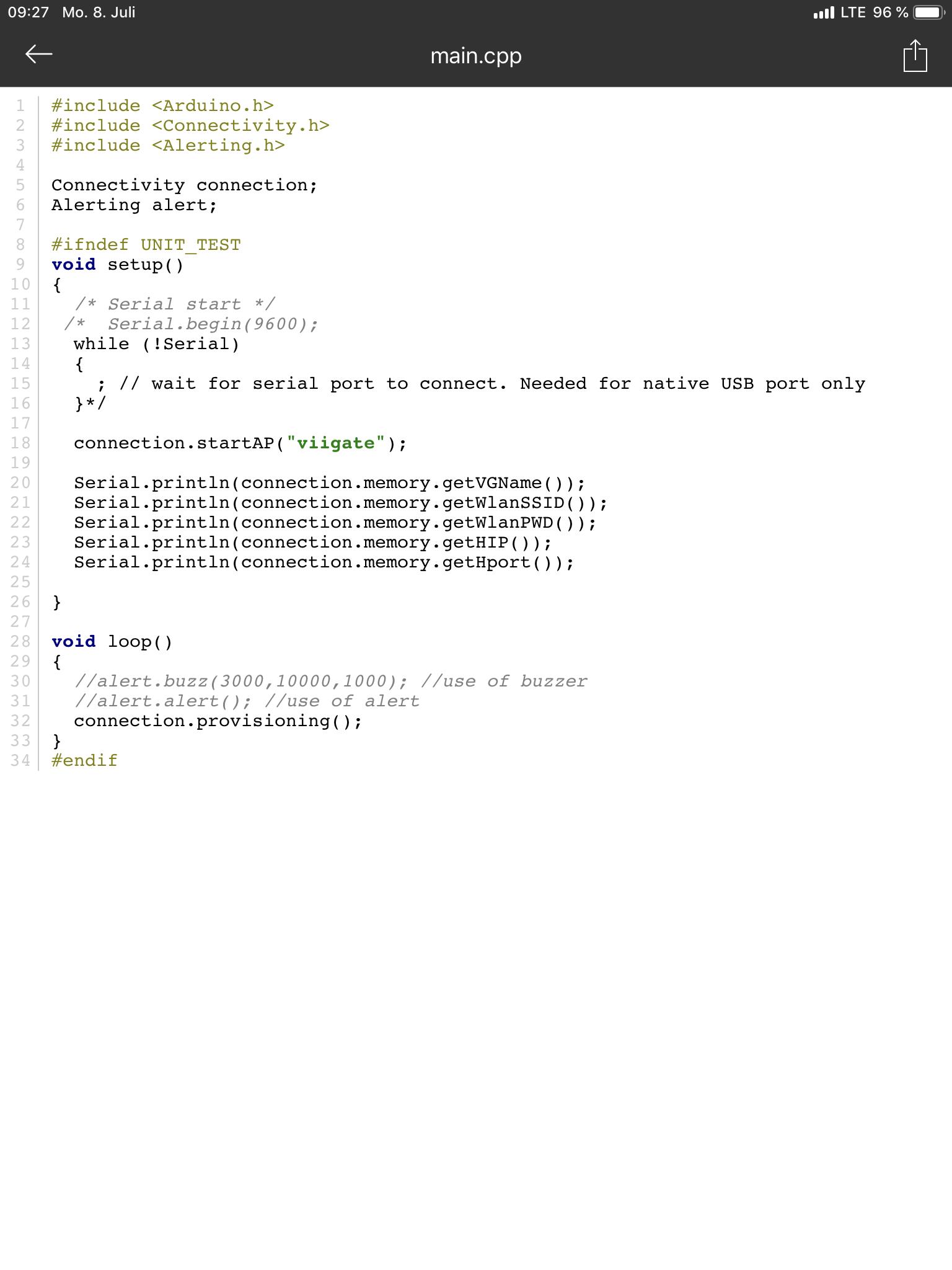 FlashStorage library not working when in lib-Folder - Libraries