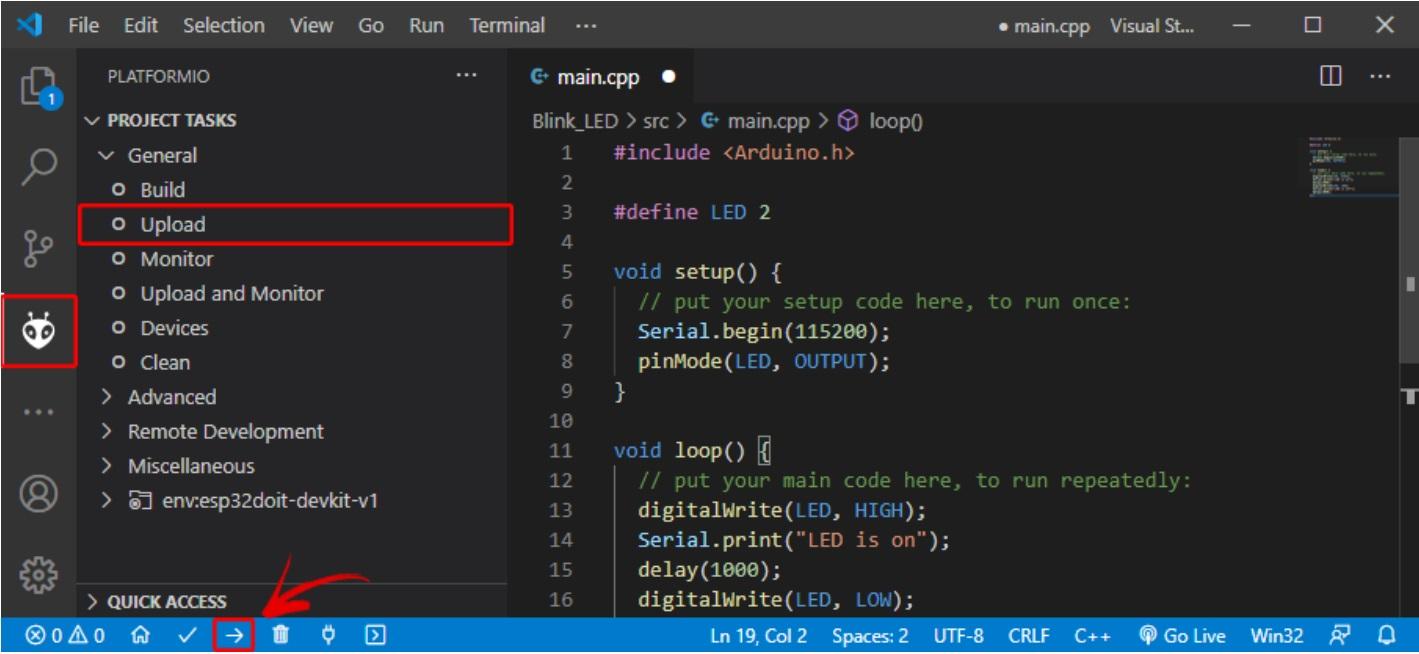 platformio VS code issue 1.2