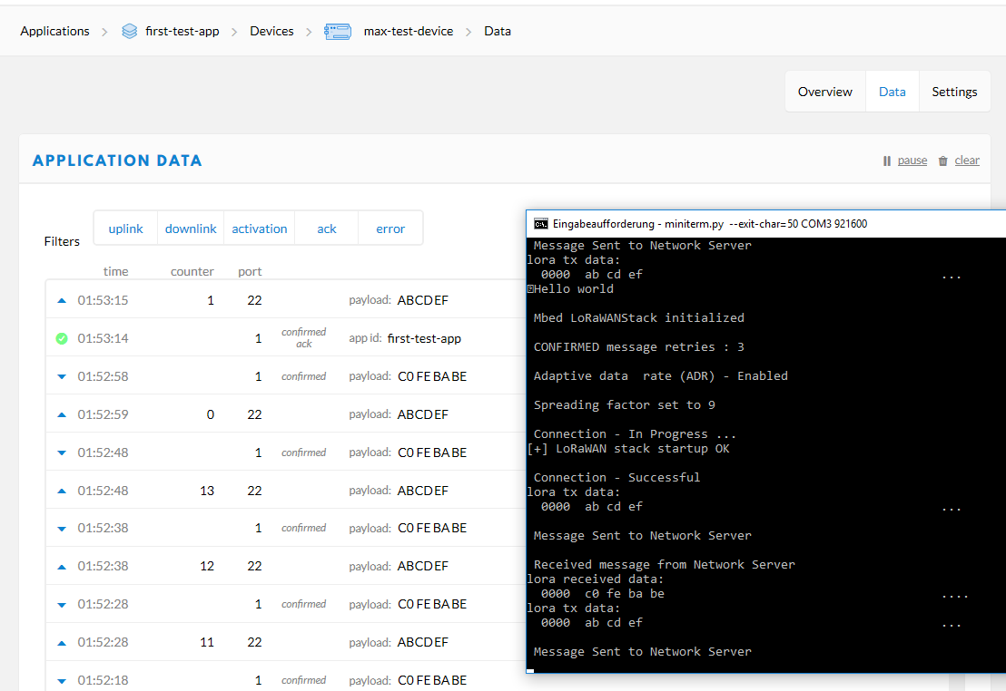 How to include built-in mbed features / library (lorawan