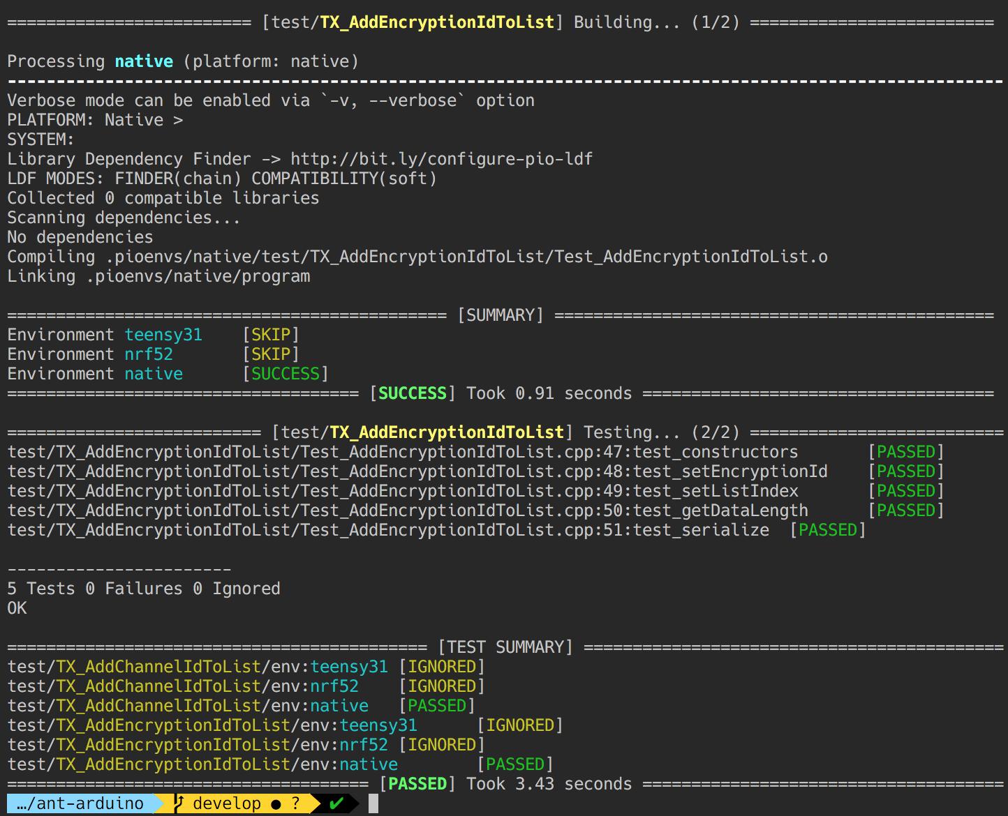Pio test not building project source - PIO Unit Testing