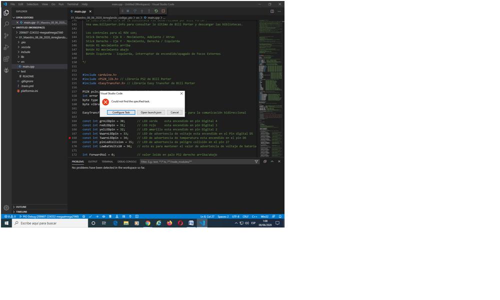 01 error start debug