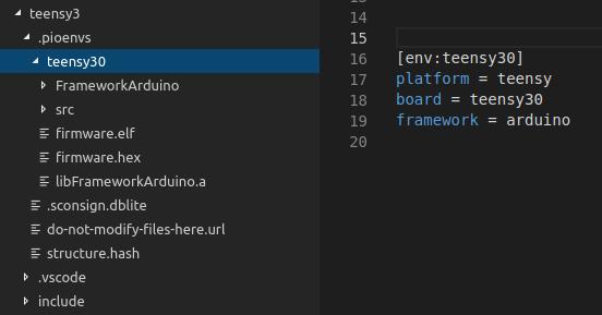 Add -t none or -t binary - PlatformIO Community